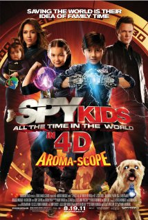 Spy Kids 4D Spy Kids All the Time in the World## Spy Kids: All the Time in the World