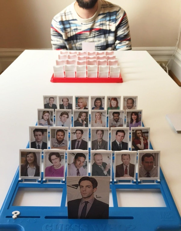 Office Guess Who
