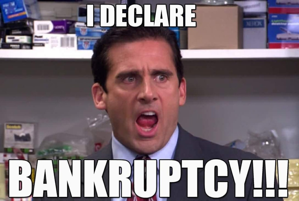 The Office (US) meme i declare bankruptcy on Bingeclock
