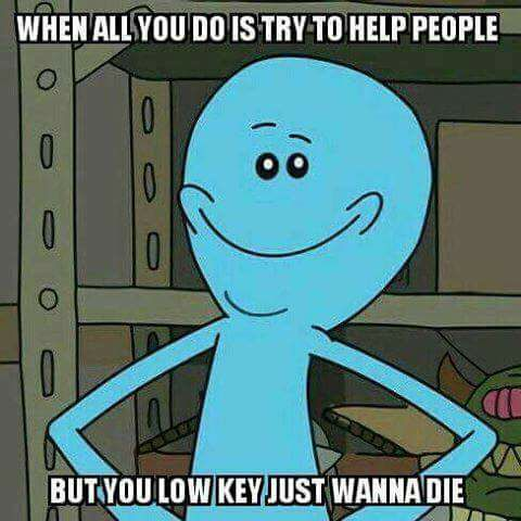 rick and morty___low_key_just_wanna_die rick and morty meme low key just wanna die on bingememe