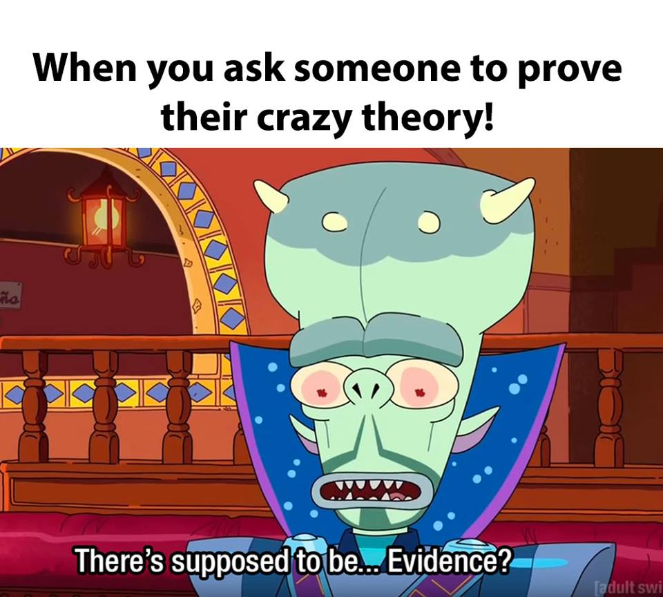 Rick And Morty Meme Supposed To Be Evidence On Bingeclock