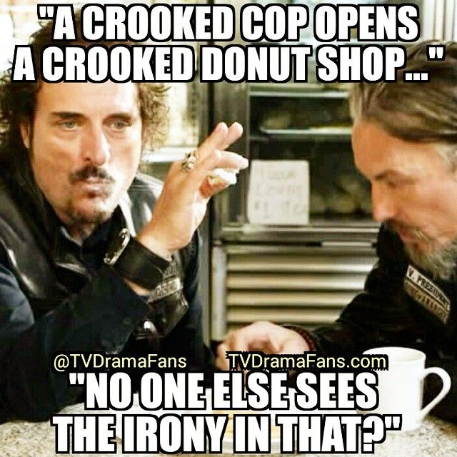 sons of anarchy___crooked_donut_shop sons of anarchy meme crooked donut shop on bingememe